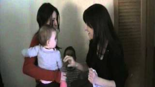 Confused Baby Meets her Mom