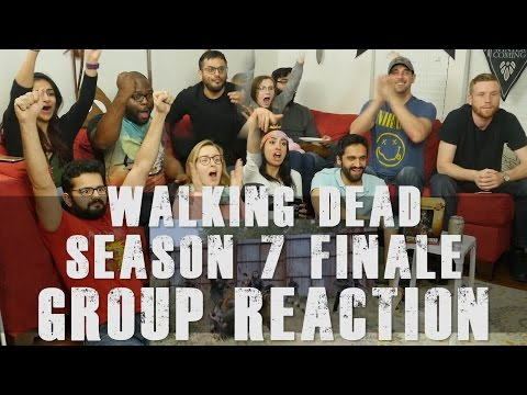 The Walking Dead 7x16 The First Day of the Rest of your Life Group Reaction
