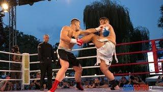 WAKO-PRO title fight Petr Vondráček vs. Sasa Polugic