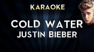 Major Lazer - Cold Water (feat. Justin Bieber & MØ) | Karaoke Instrumental Lyrics Cover Sing Along