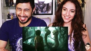 JUNGLE BOOK HINDI trailer reaction by Jaby & Hope!