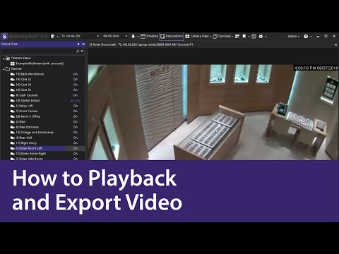 Xxx Mp4 How To Playback And Export Video Using Aimetis Symphony 3gp Sex