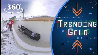 Nigeria's Bobsleigh Team takes the plunge | Trending Gold