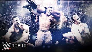 John Cena's Hardest-fought Victories - WWE Top 10