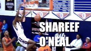 Shareef O'neal Highlights From Tarkanian Classic