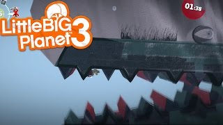 LittleBIGPlanet 3 - This is a HUGE Whale!!! [Playstation 4]