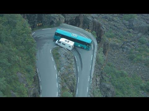 Geiranger Gudbrandsjuvet Trollstigen Norwegen im August