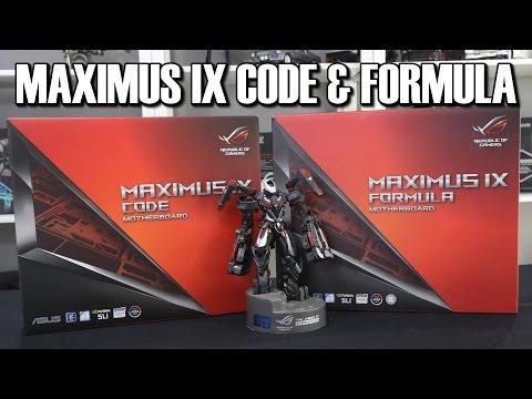 Asus ROG Maximus IX Formula & Code Z270 Motherboard Review & Comparison