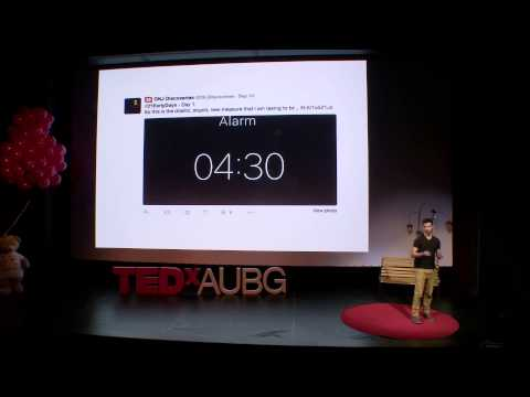 How waking up every day at 4.30am can change your life Filipe Castro Matos TEDxAUBG