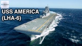 US Navy's Newest Compact Aircraft Carrier - USS America