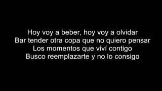 J Alvarez - Quiero olvidar ( letra )