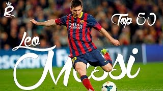 Messi - Top 50 goals • HD