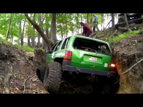 2011 MN Trail Riders Jeep 4x4 Club Host Fall River Falls Run Part 2 of 2