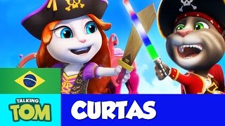 Talking Tom Curtas - Piratas Poderosos (Episódio 22)