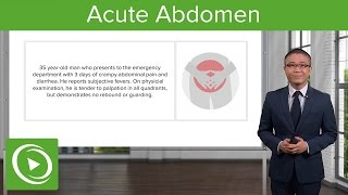 Acute Abdomen – General Surgery | Medical Video