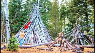These Huge Wooden Structures Are Baffling Forest Officials In Santa Fe National Forest