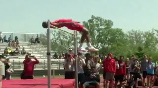 Oklahoma commit breaks national high jump record