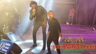 Tallpree & his son performing at 'PREEDAY 2016'