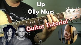 Olly Murs - Up (Feat. Demi Lovato) ( Guitar Tutorial )