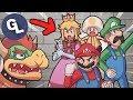 BOWSER MEETS PEACHETTE – New Super Mario Bros. U Deluxe