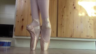 How I Break In Pointe Shoes For High-Arched Feet