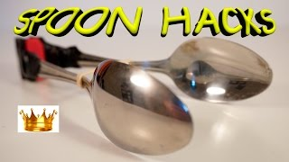 AMAZING 7 SPOON LIFE HACKS you should  know!!!
