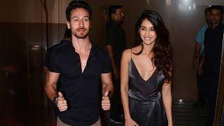 Tiger Shroff With HOT Girlfriend Disha Patani At Judwaa 2 Special Screening