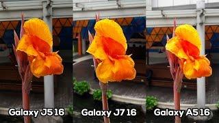 Samsung Galaxy J5 2016 vs J7 2016 vs A5 2016 -  Kamera (Part 1/3)