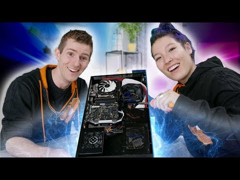 Max Builds her FIRST PC – Photo Editing Build Log