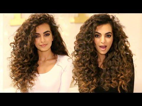 HEATLESS Curls For Long Hair Tutorial