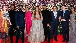 Bollywood Celebs At Kapil Sharma And Ginni Chatrath GRAND Wedding Reception Full Video HD