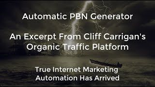 (OTP) Organic Traffic Platform Automatic PBN Generator