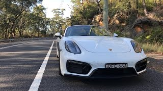 Porsche Boxster GTS - Loud exhaust, Twisty roads, Supercar collection