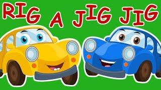 Ralph & Rocky |Rig A Jig Jig | Car Rhymes For Children