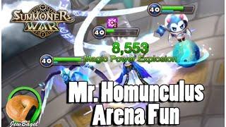 SUMMONERS WAR : Mr Homunculus Arena Fun (water homunculus)