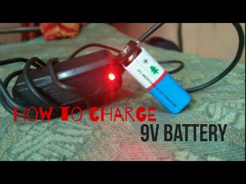 {Hindi}| How to charge a 9v battery|Easy Tips|