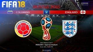 FIFA 18 World Cup - Colombia vs. England @ Spartak Stadium