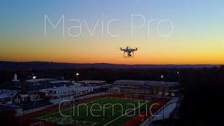 DJI MAVIC PRO Cinematic Video Test!!! [4K]