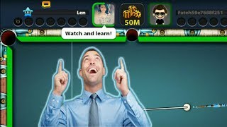 8 Ball Pool- WATCH AND LEARN (SWEET REVENGE) BERLIN PLATZ/JAKARTA GAMEPLAY HD