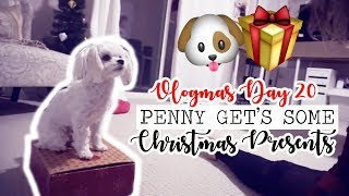 PENNY GETS SOME CHRISTMAS PRESENTS! || Vlogmas Day 20