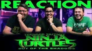 Teenage Mutant Ninja Turtles 2 Trailer REACTION!!