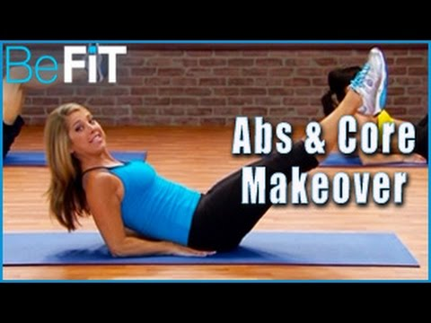 Abs & Core Makeover Workout Denise Austin Shrink Belly Fat
