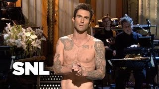 Adam Levine Monologue - Saturday Night Live