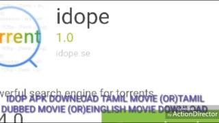 IDOP APP DOWNLOAD ALL LANGUAGES MOVIE DIRECT ADD  TORRENT APP