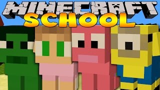 Minecraft School - THE CLASS TURN INTO PUPPIES!!