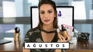 FAVORİLERİM AĞUSTOS | Saç bakımı, makyaj, kozmetik, film