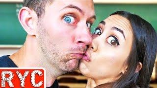 Teachers Caught Kissing!