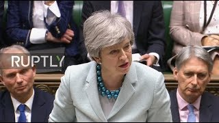 LIVE: May updates MPs about Brexit negotiations ahead of debate