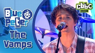 The Vamps 'Wake Up' performed live on Blue Peter! CBBC