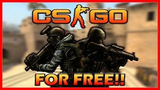 DOWNLOAD CS:GO FOR FREE!! - [PC TUTORIAL]